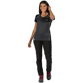 Regatta Tornell II T-Shirt Women seal grey/black